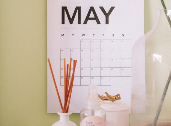 Calendrier marketing Mai 2020